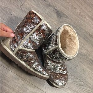 SALE!!!!!!! Sequin ugg boots